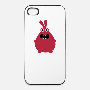 Monstruo Crazy funny monster - Carcasa iPhone 4/4s