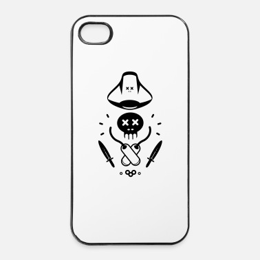 Morire LITTLE PIRATE - Custodia rigida per iPhone 4/4s