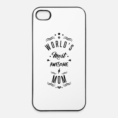 Nombre awesome mom - Coque rigide iPhone 4/4s