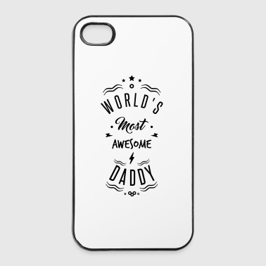AWESOME DADDY - Twarde etui na iPhone 4/4s