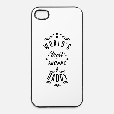 Daddy AWESOME DADDY - iPhone 4/4s hard case