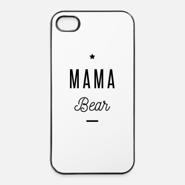 Mor MAMA BEAR - Hårt iPhone 4/4s-skal