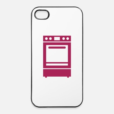 Pizza Stufa - Custodia rigida per iPhone 4/4s