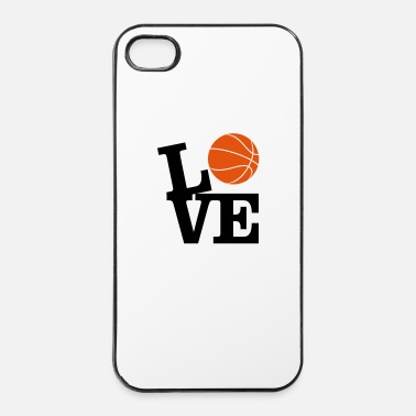 Palla Amore Basket - Custodia rigida per iPhone 4/4s