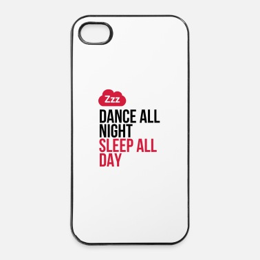 Bar Dansen door de nacht. Slapen door de dag! - iPhone 4/4s hard case