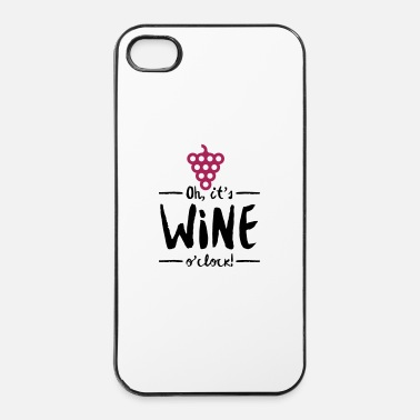 Antica E  tempo di vino - Custodia rigida per iPhone 4/4s