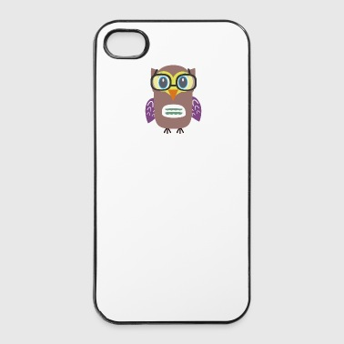 Nerd buho - Carcasa iPhone 4/4s