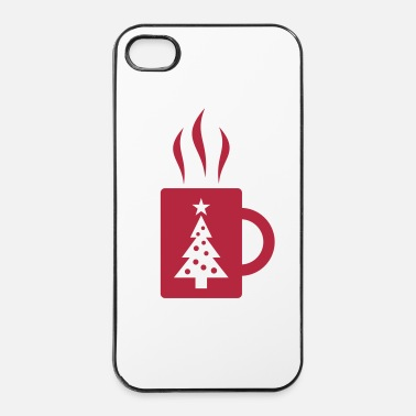Froid Vin chaud  - Coque rigide iPhone 4/4s