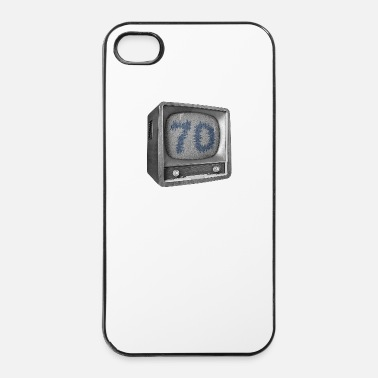 Tv Verjaardag - 70 jaar - TV - iPhone 4/4s hard case