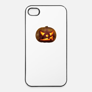 Citrouille Halloween - citrouille - Coque rigide iPhone 4/4s