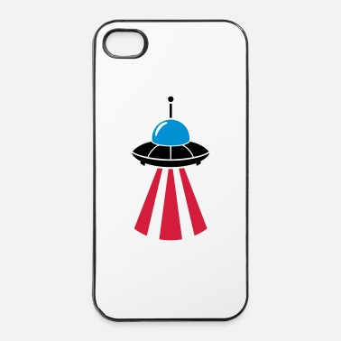 Ufo Ruimteschip - iPhone 4/4s hard case