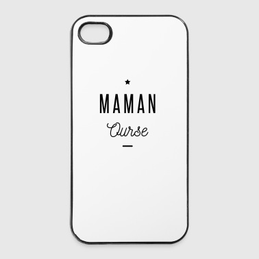 MAMAN OURSE - Coque rigide iPhone 4/4s