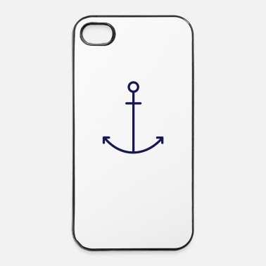 Ancre Ancre bleue - Coque rigide iPhone 4/4s
