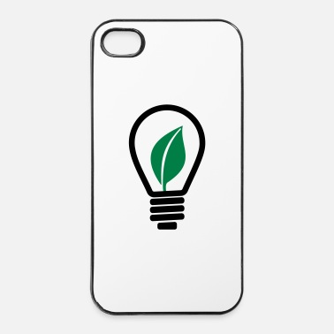 Blad Gloeilamp - iPhone 4/4s hard case