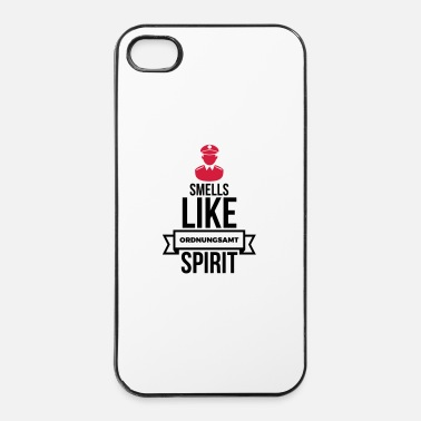Interdiction Smells Like Ordnungsamt Esprit - Coque rigide iPhone 4/4s