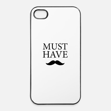 Gentleman Moustache - Must Have ultimativ - Coque rigide iPhone 4/4s