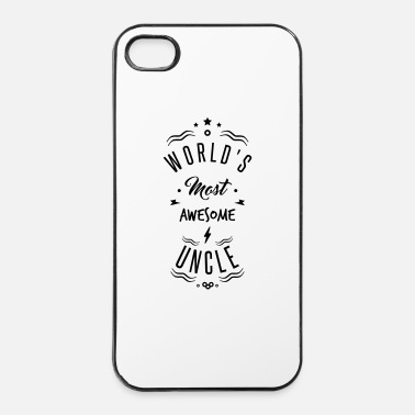 Planeet AWESOME UNCLE - iPhone 4/4s hard case