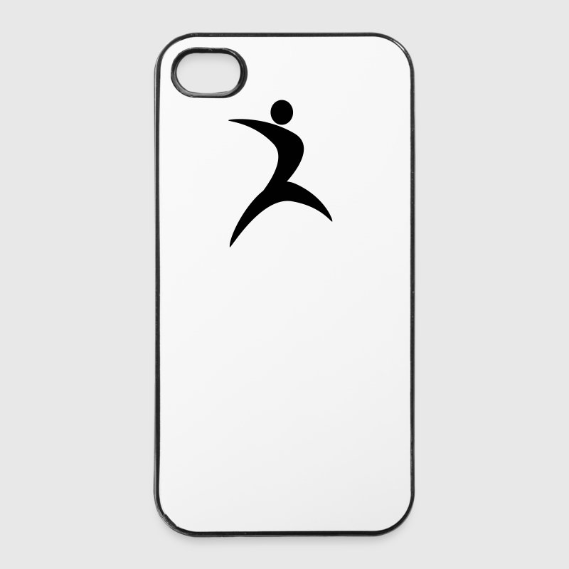 Tänzerin Leichtathletik Turnen Showgirl 1c - iPhone 4/4s Hard Case