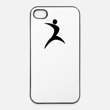 Danser Danser Atletiek gymnastiek showgirl 1c. - iPhone 4/4s hard case