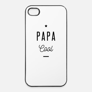 Parents PAPA COOL - Coque rigide iPhone 4/4s