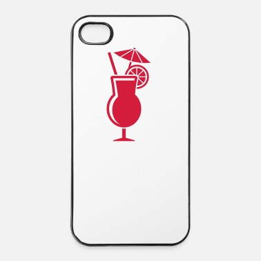 Plage Cocktail - Coque rigide iPhone 4/4s