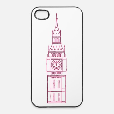 Regno Big Ben Londra - Custodia rigida per iPhone 4/4s