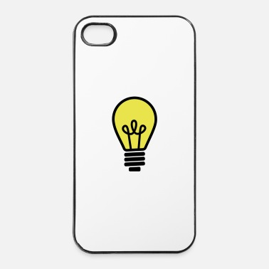 Persone Lampadina - Custodia rigida per iPhone 4/4s