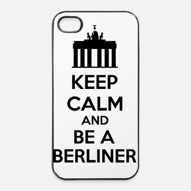 Berlín Keep Calm And Be A Berliner - Carcasa iPhone 4/4s