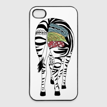 Buntes Zebra - iPhone 4/4s Hard Case