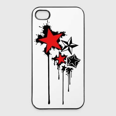 Etoile star splash - Coque rigide iPhone 4/4s