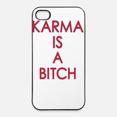 Viisaus Karma is a  - iPhone 4/4s kovakotelo