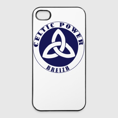 Symbole Celtique Celtique Power Breizh 2 - Coque rigide iPhone 4/4s