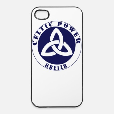 Symbole Celtique Power Breizh 2 - Coque rigide iPhone 4/4s