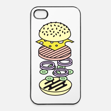 Pique Burger - Coque rigide iPhone 4/4s