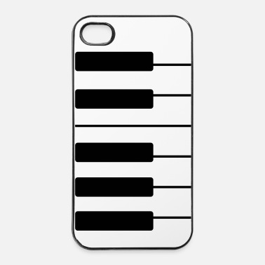 Pianoforte Piano custodia - Custodia rigida per iPhone 4/4s