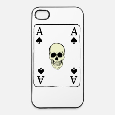 Pik aces of Spades skull - iPhone 4 & 4s Hülle