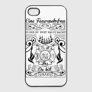 Firefighter Du bist - iPhone 4/4s Hard Case