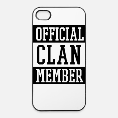 Clan Official Clan Member - iPhone 4 & 4s Hülle