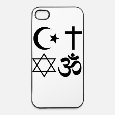 Anti anti - raciste ai - Coque rigide iPhone 4/4s