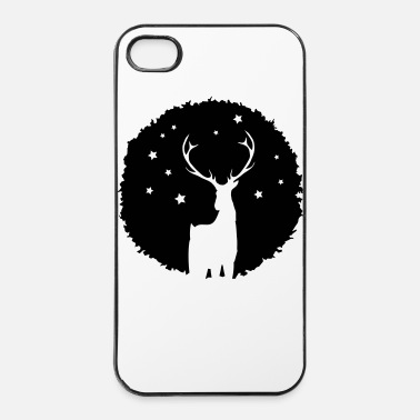 Antler Deer Patch Graffiti - iPhone 4 & 4s Case