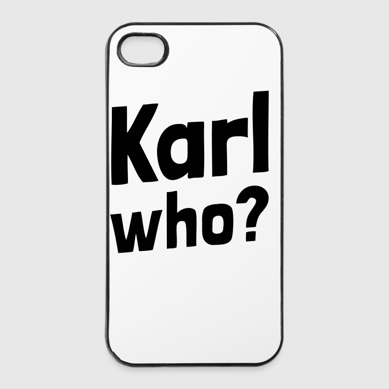 Karl who? (1a) - iPhone 4/4s Hard Case