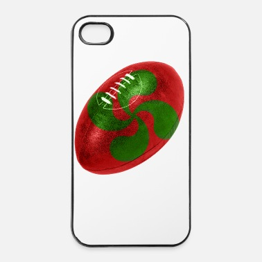 Rugby Ballon rugby Croix Basque - Coque rigide iPhone 4/4s