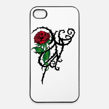 Tattoo Tattoo Rose - iPhone 4/4s Hard Case