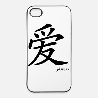 Chinois signe chinois amour - Coque rigide iPhone 4/4s