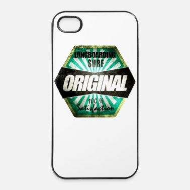 Longboard Longboarding surf original - Coque rigide iPhone 4/4s