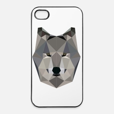 Loup - Coque rigide iPhone 4/4s