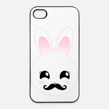 Sir Sir Moustache Bunny - iPhone 4 & 4s Hülle
