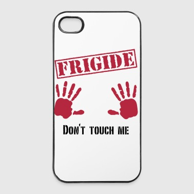Frigide Don´t touch me 2c - iPhone 4/4s Hard Case