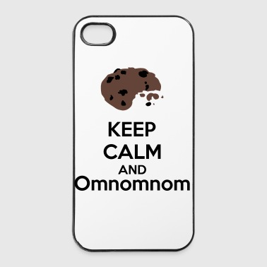 Keep Calm And Omnomnom - iPhone 4/4s hard case