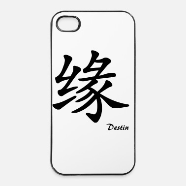Chinois signe chinois destin - Coque rigide iPhone 4/4s